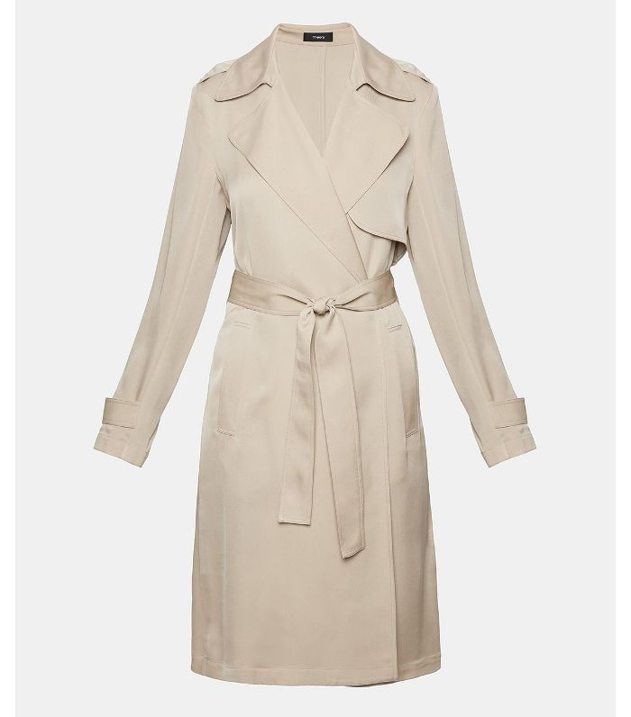 Theory Silk Trench