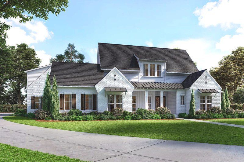 Two Story Acadian Home