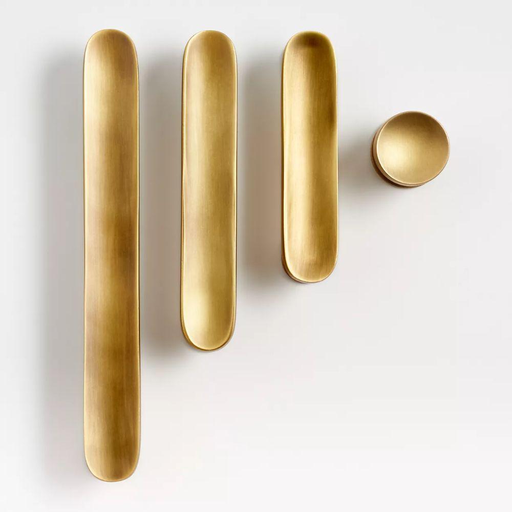 Antique brass kitchen hardware