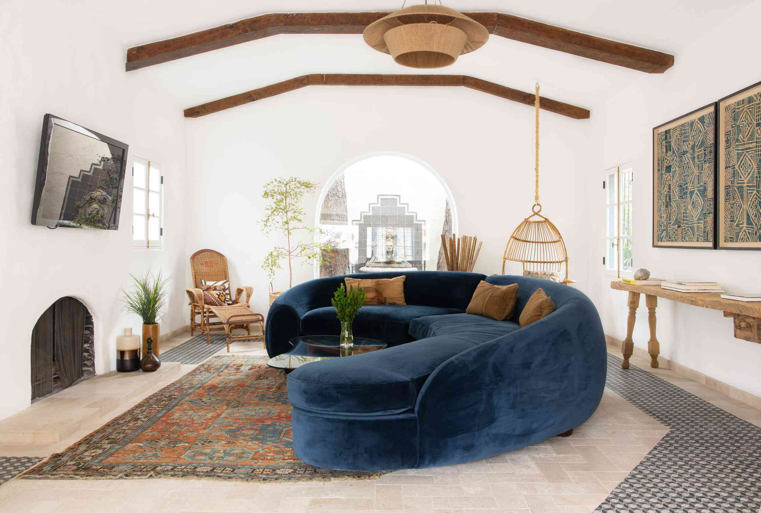 California-style living space