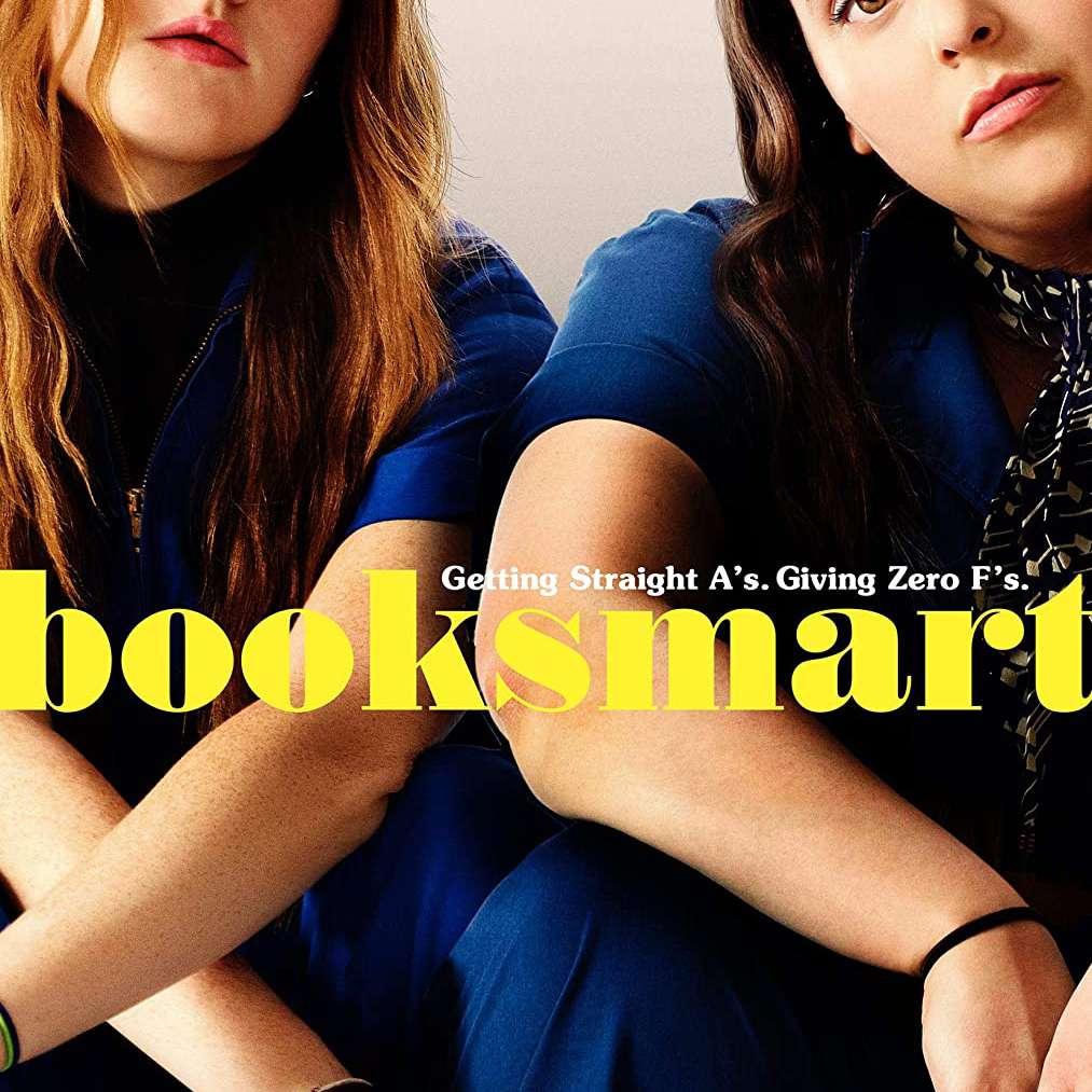 Booksmart movie poster.