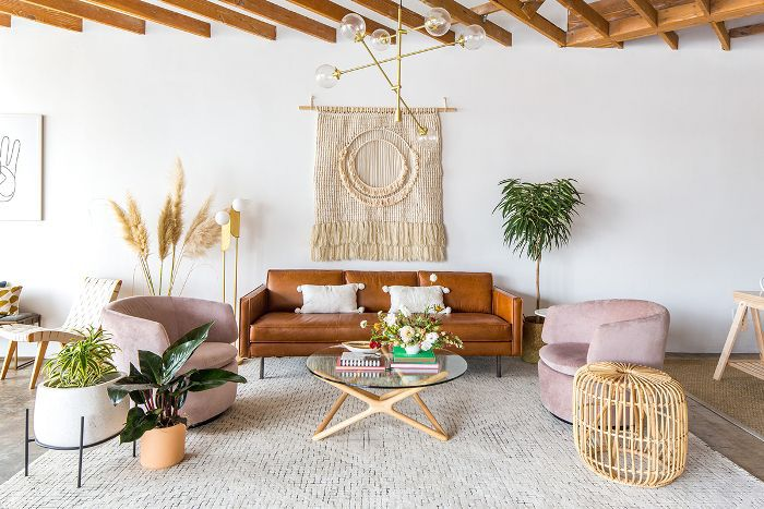 Bohemian living room—Festoon event space