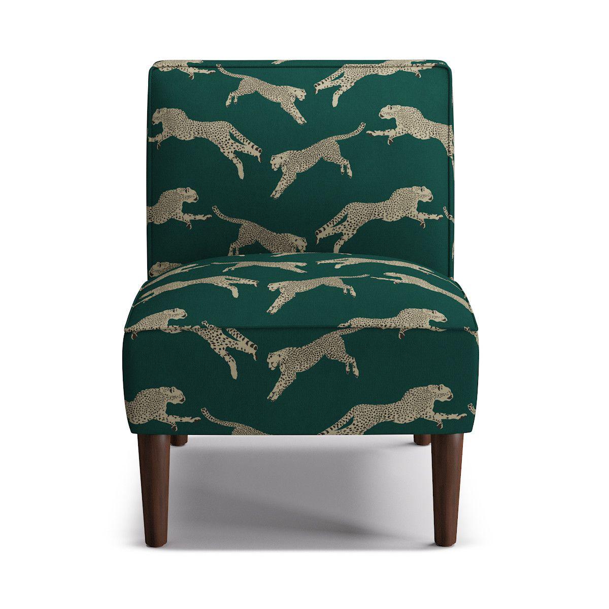 cheetah chair