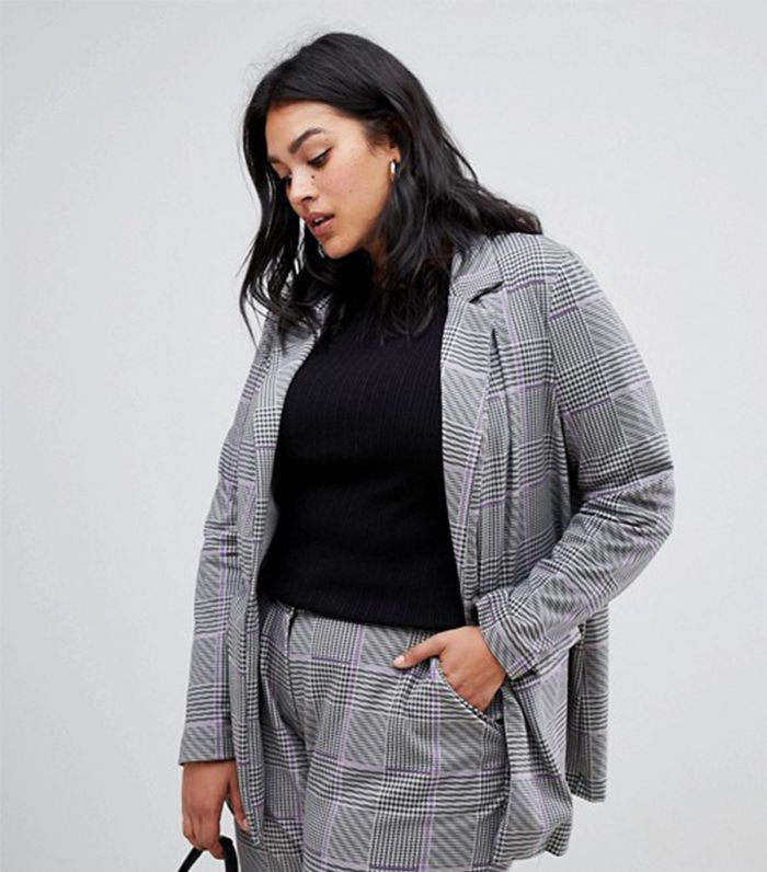 Junarose Houndstooth Suit Jacket