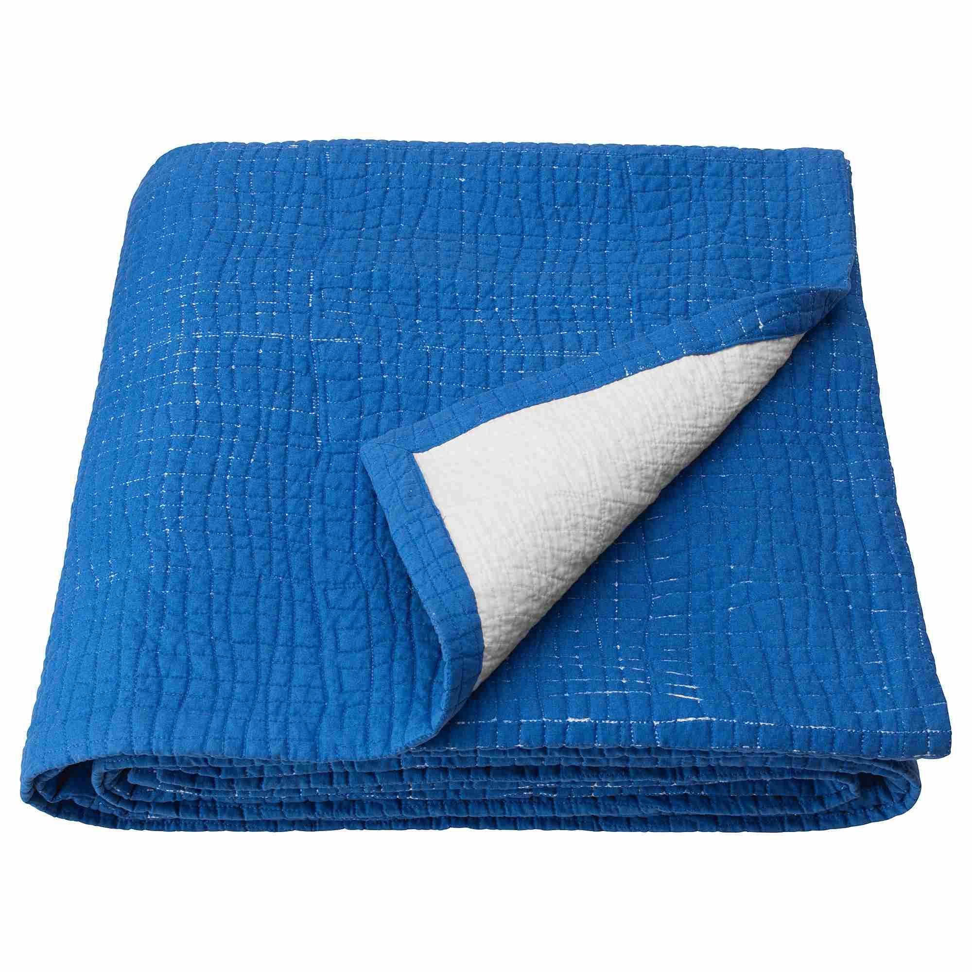 TÄNKVÄRD Blue Bedspread