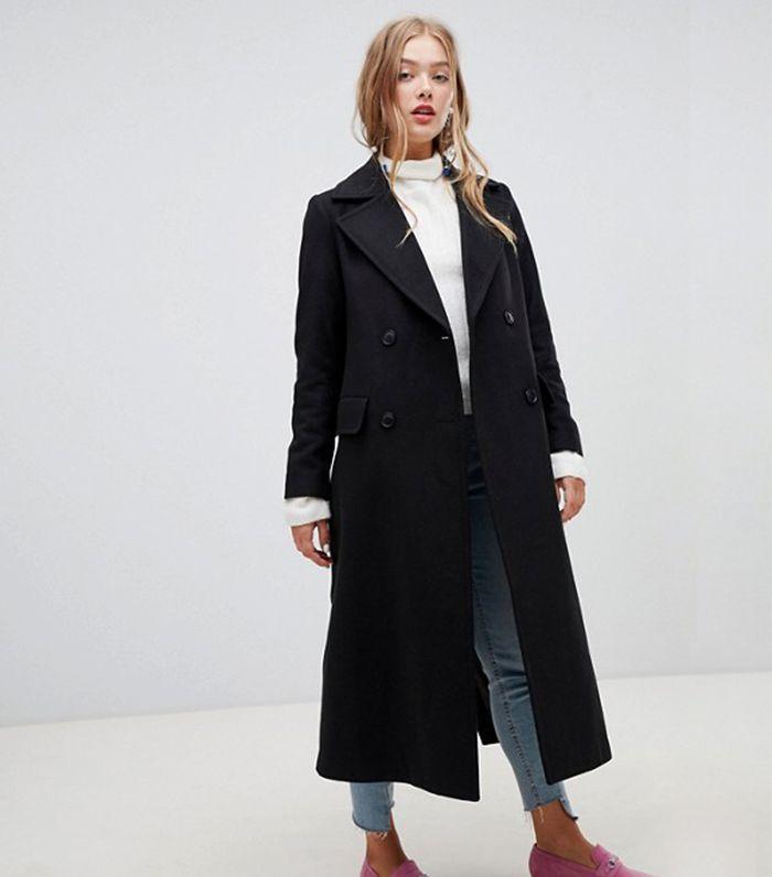 Tailored Maxi Coat