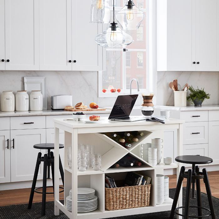 pottery barn kitchen