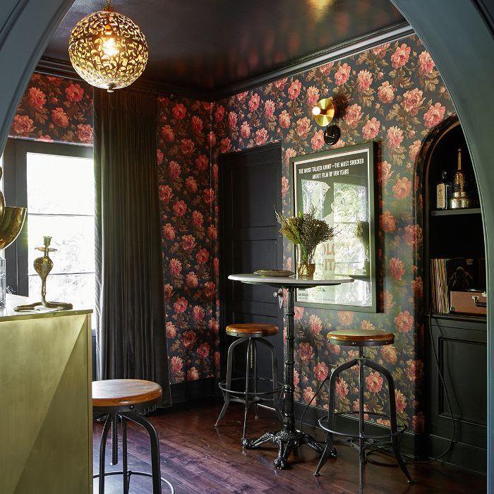 Shay Mitchell—home bar design