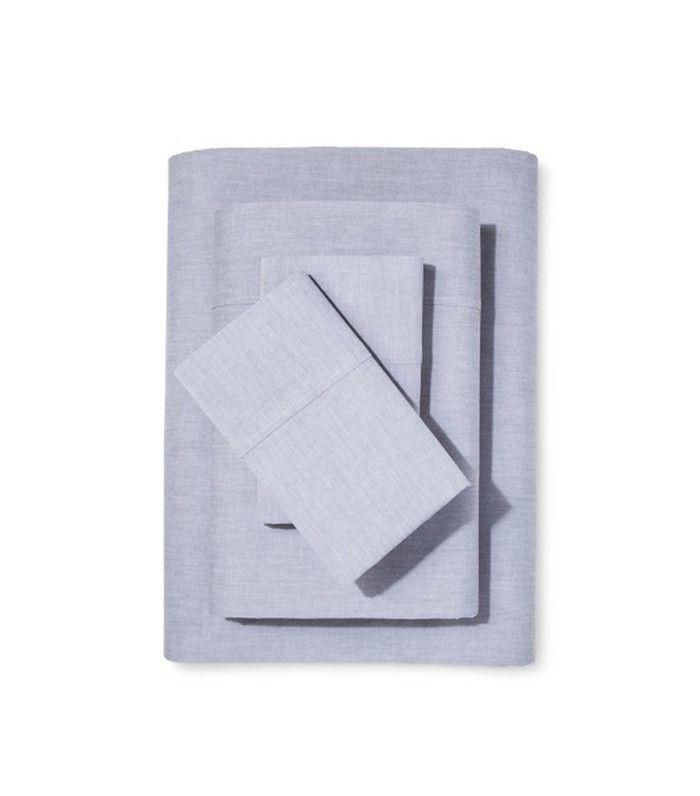 Target Chambray Sheet Set