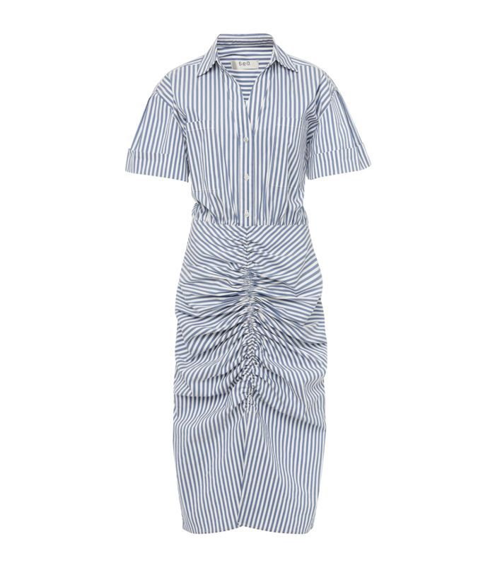Sea Riviera Ruched Work Dress