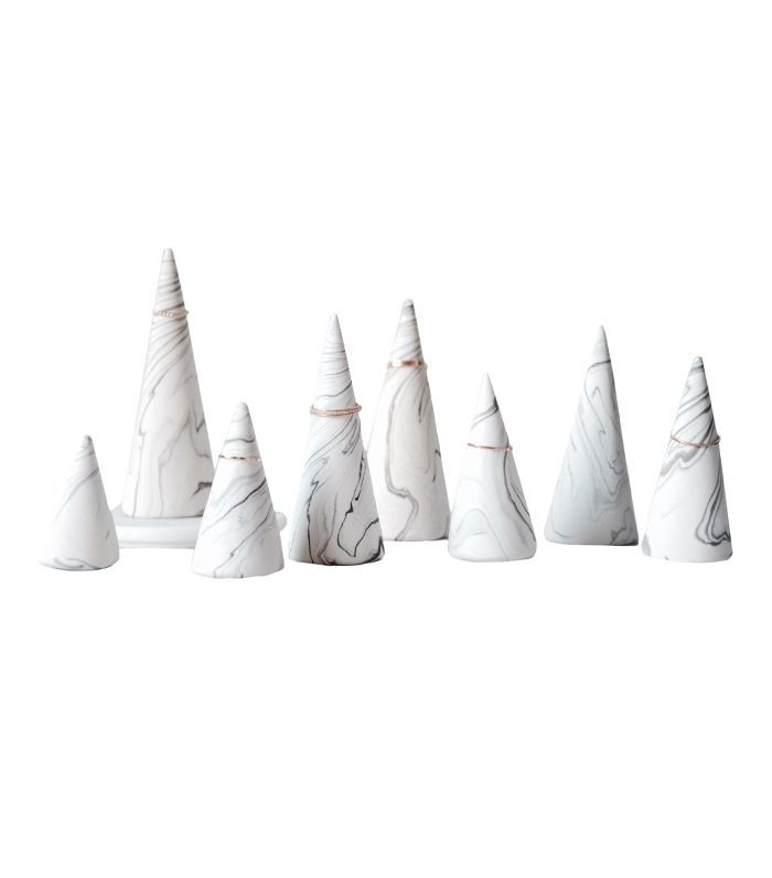 CraftMonkees Marble Ring Holder Cone