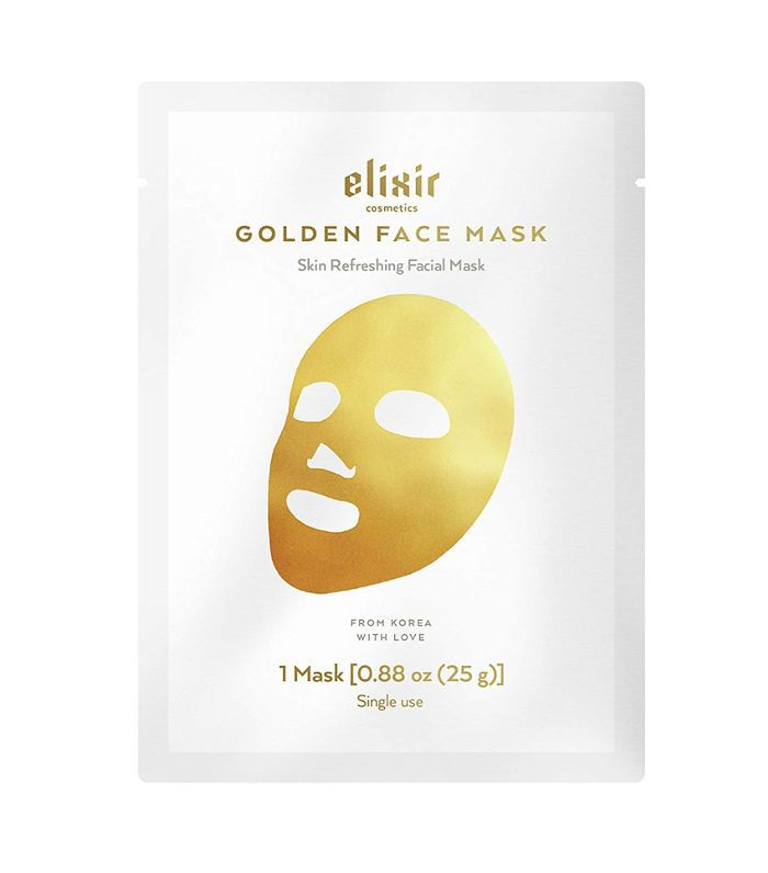Elixir Cosmetics Gold Korean Collagen Face Mask