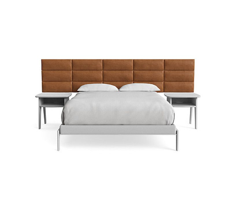 A plush modern headboard, currently for sale at Industry West
