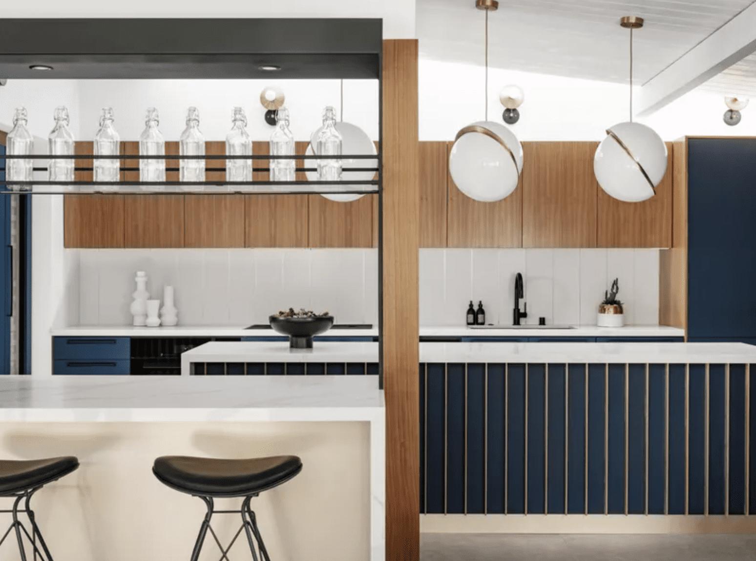 A kitchen with restaurant-inspired design details
