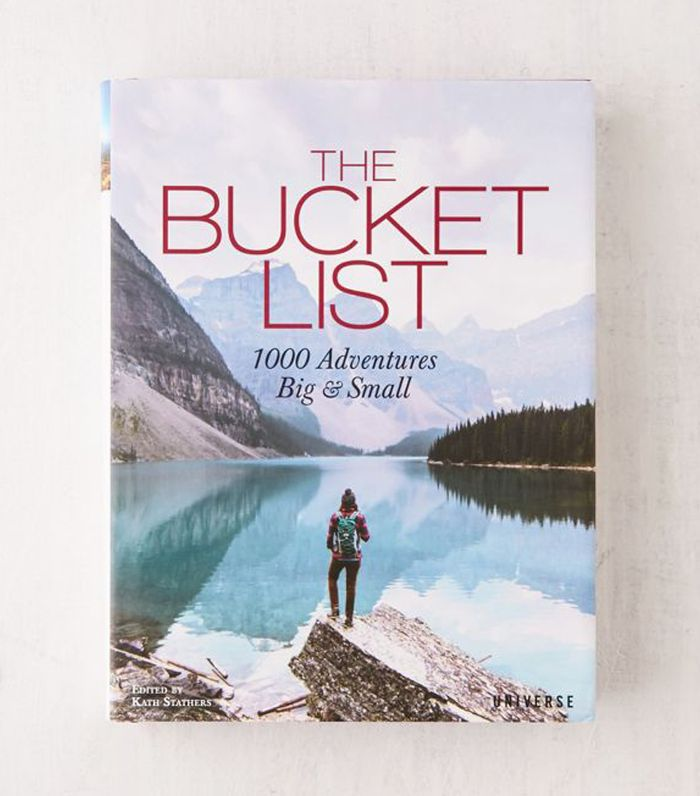 The Bucket List: 1000 Adventures Big & Small By Kath Stathers - Assorted One Size at Urban Outfitters