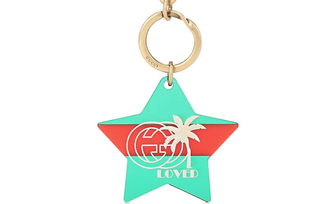 Gucci Star Keychain