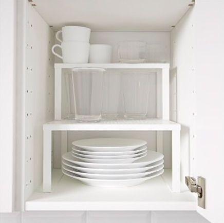 IKEA VARIERA Shelf insert, white