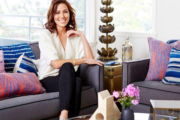 Michaela Conlin at home