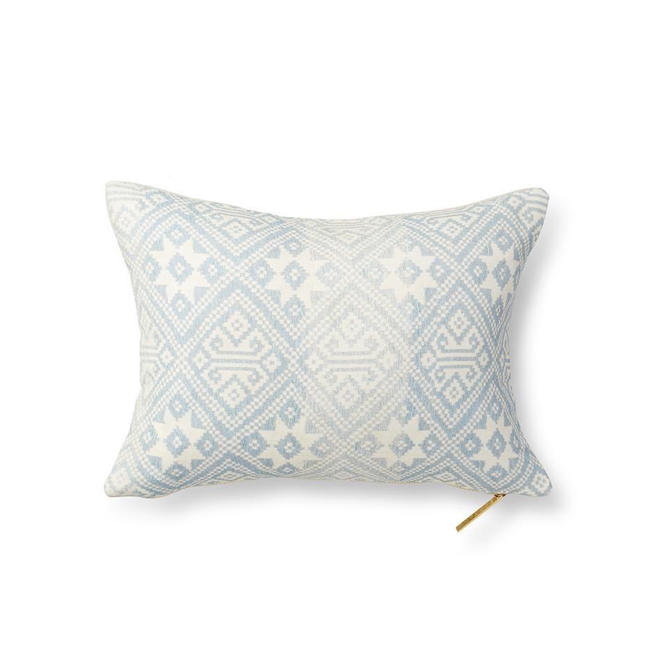 printed lumbar pillow
