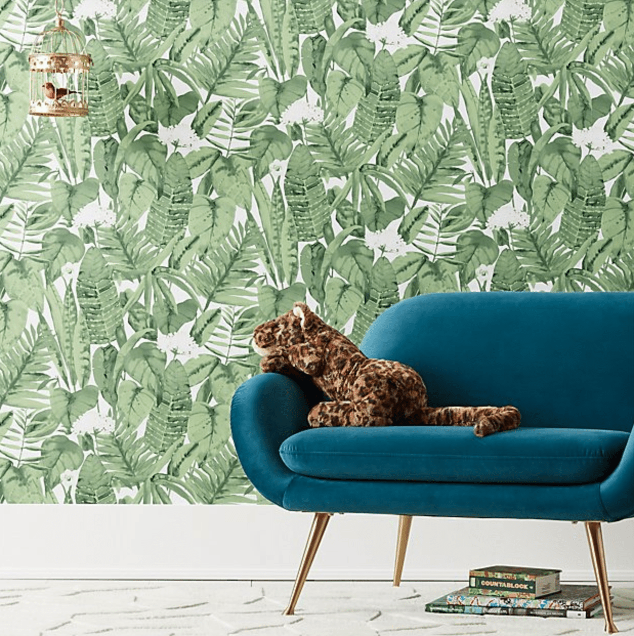 Jungle wallpaper by Crate and Kids