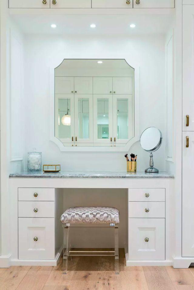 vanity closet design idea
