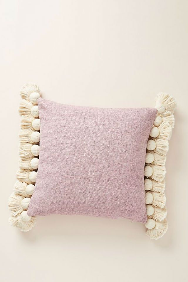 Tasseled Chenille Nadia Pillow