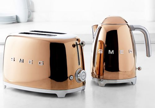 SMEG Launches Limited Edition Rose Gold Appliances