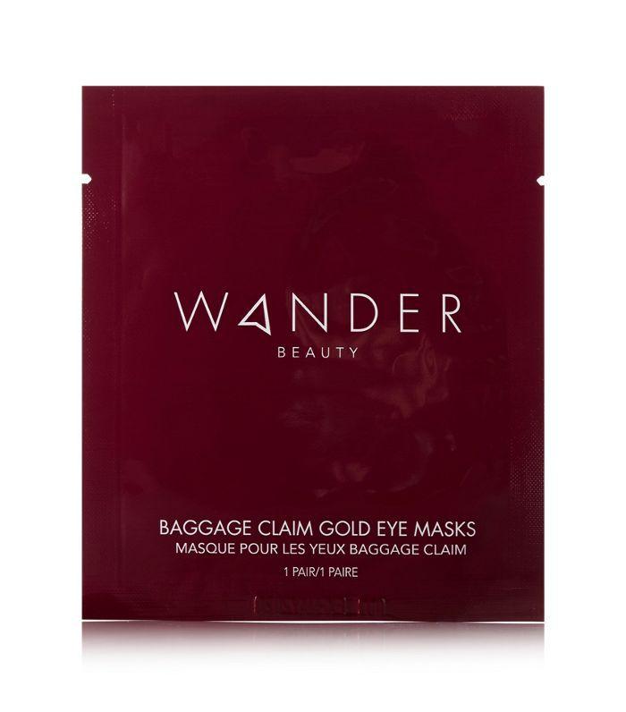 Baggage Claim Gold Eye Masks X 6