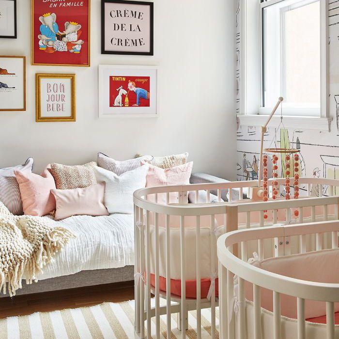 French-themed nursery