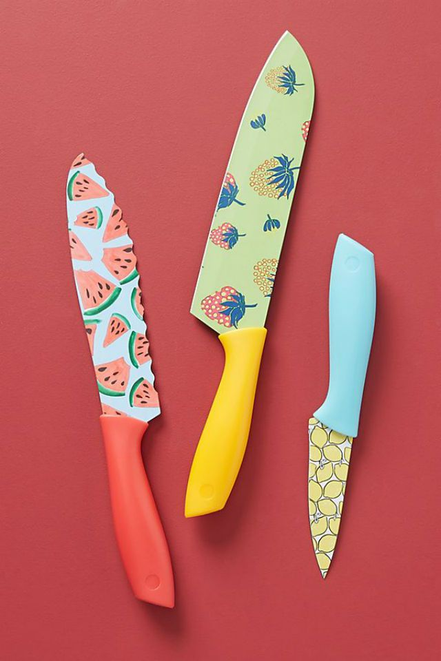 Colloquial Kitchen Knives, Set of 3
