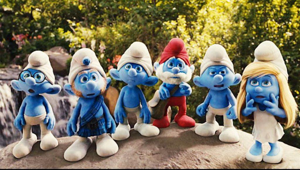 The Smurfs movie still