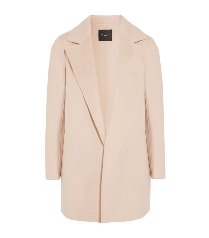 Clairene Wool And Cashmere-blend Coat