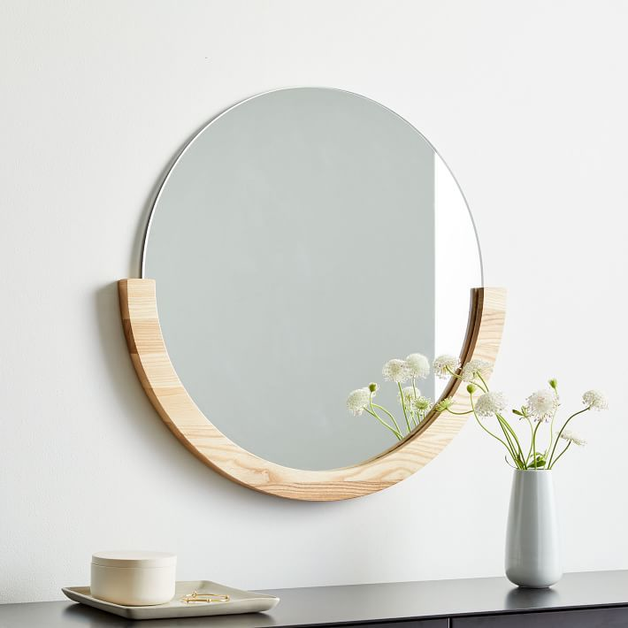 Ease Semi Frame Mirror—Cheap room decor