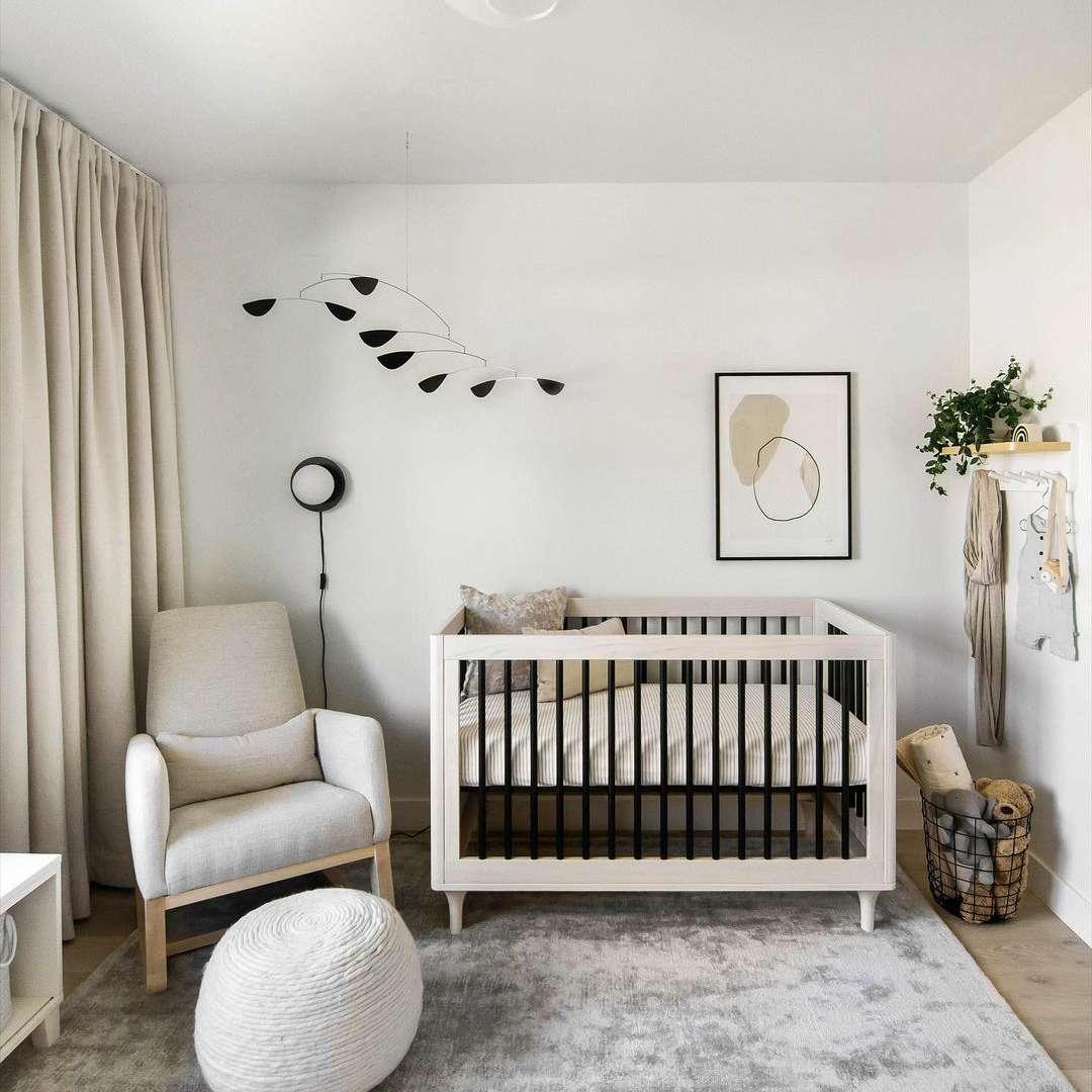 Neutral colored nursery