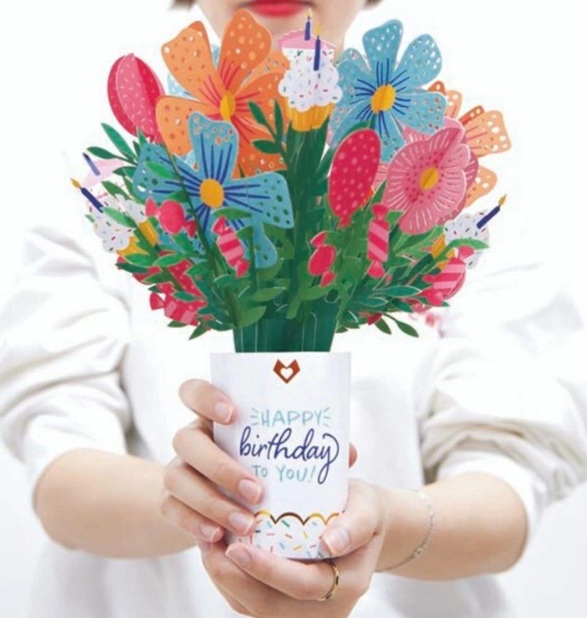 Ramo de flores de cumpleaños LovePop
