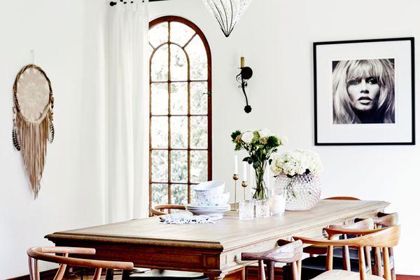 Bohemian dining room