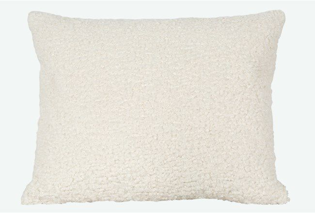 Sheepskin Accent Pillow