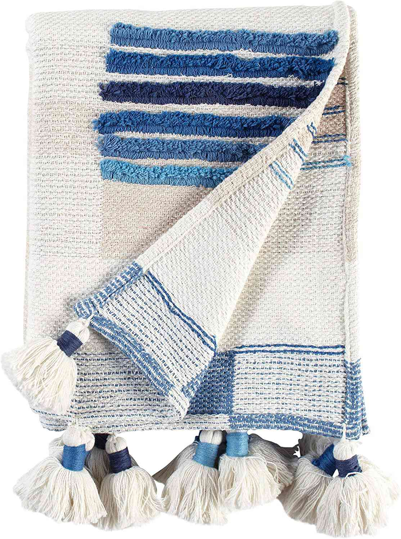 Lanzamiento de algodón con textura global