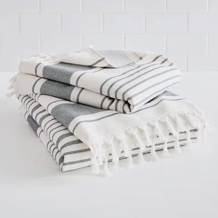 Organic Turkish Tassel Towel