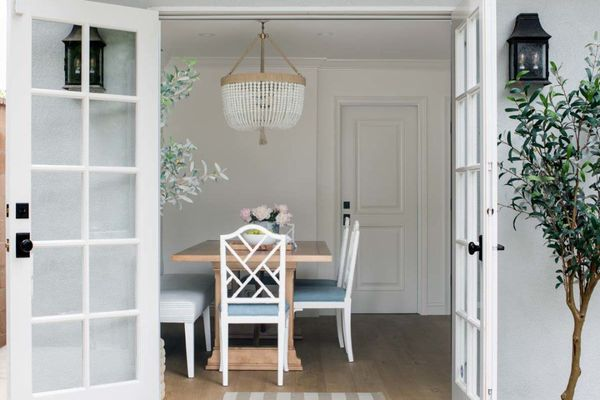 open french doors for airflow in summer