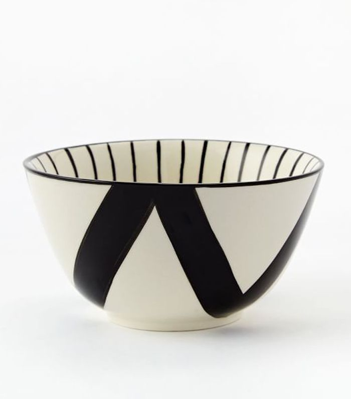 West Elm Mixed Pattern Rice Bowl