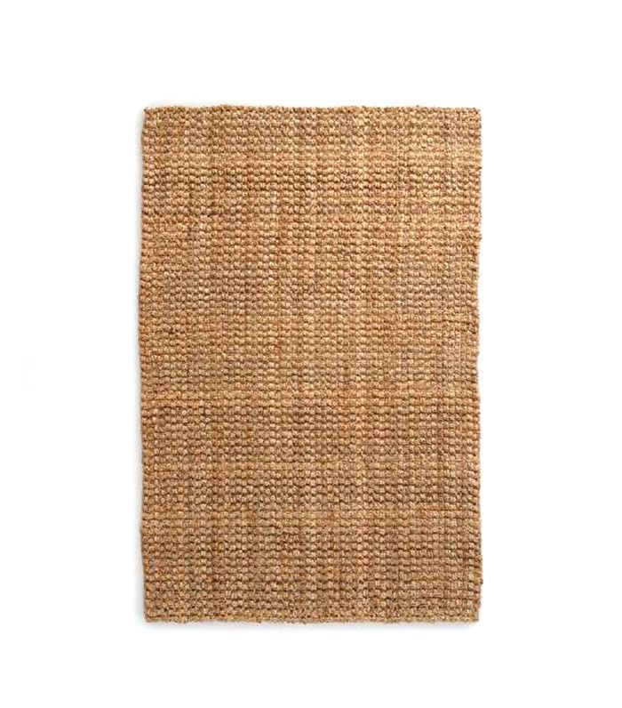 World Market Natural Basket Weave Jute Rug