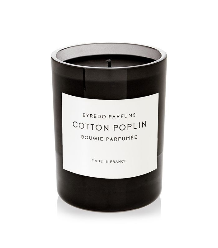 Cotton Poplin Scented Candle