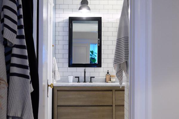 makeover of the week gina rachelle design edwardian bathroom redo