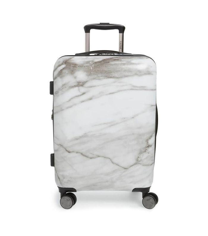 Calpak Astyll 22-Inch Rolling Spinner Carry-On - Negro