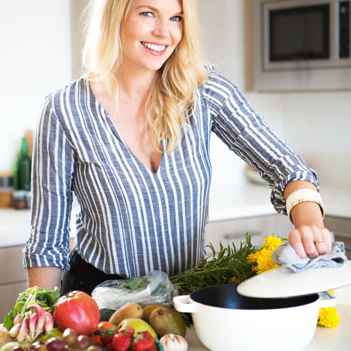 Portrait of cookbook author Amanda Frederickson