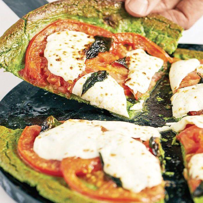 Corteza de pizza de proteínas