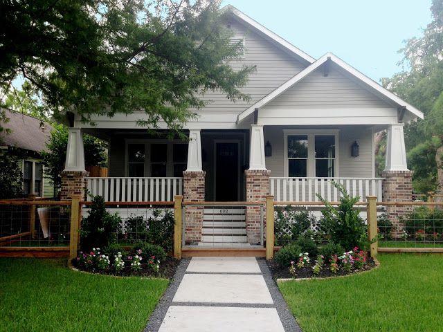 craftsman porch railing