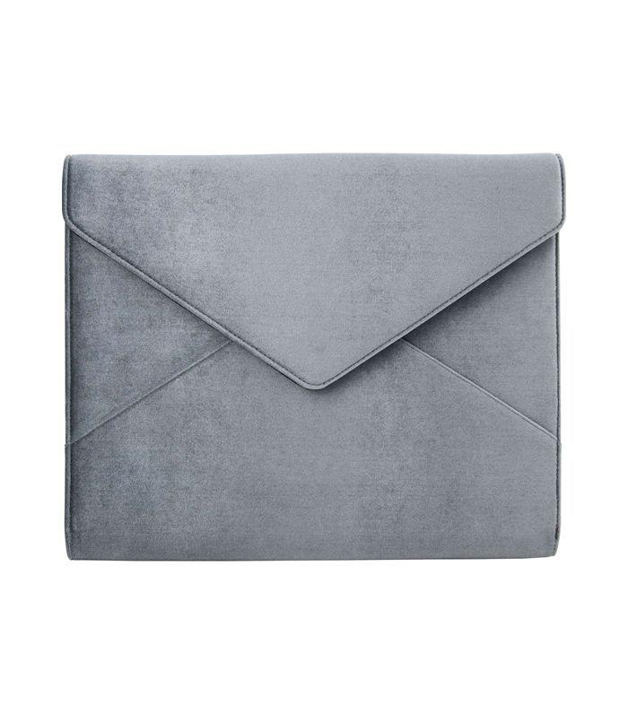 Sonix Powder Velvet Laptop Clutch