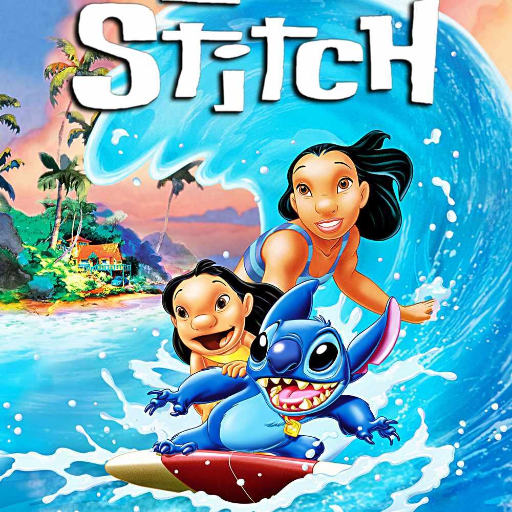 Lilo and Stitch movie poster.